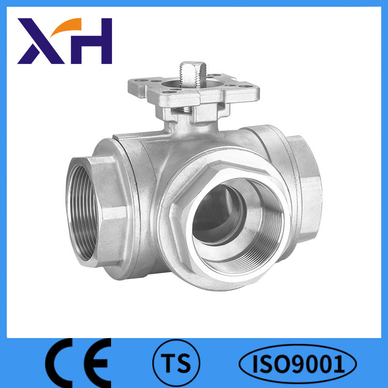 3way Ball Valve With Mounting Pad Safety Ball Valve