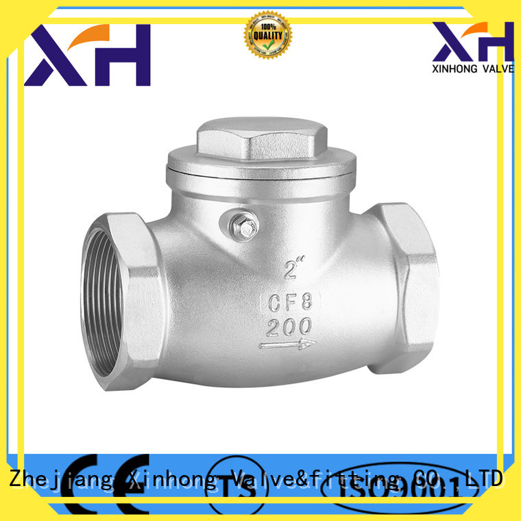 Xinhong Valve&fitting Top stainless steel check valve manufacturers