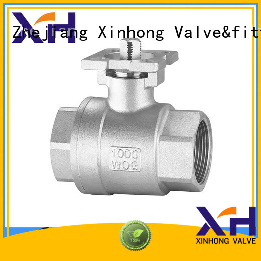 Xinhong Valve&fitting New pneumatic ball valve factory