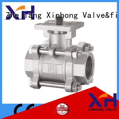 Xinhong Valve&fitting safety exhaust ball valve factory