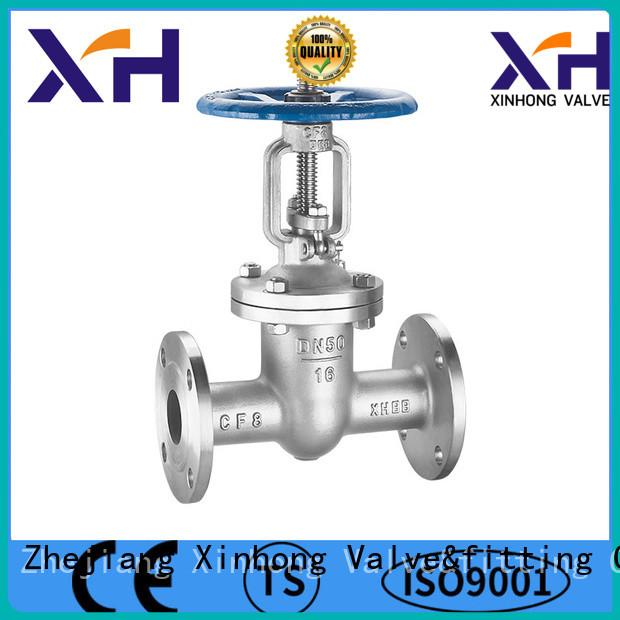 Xinhong Valve&fitting flanged ball valve factory