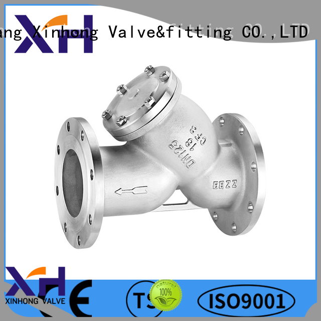 Xinhong Valve&fitting stainless y strainer company