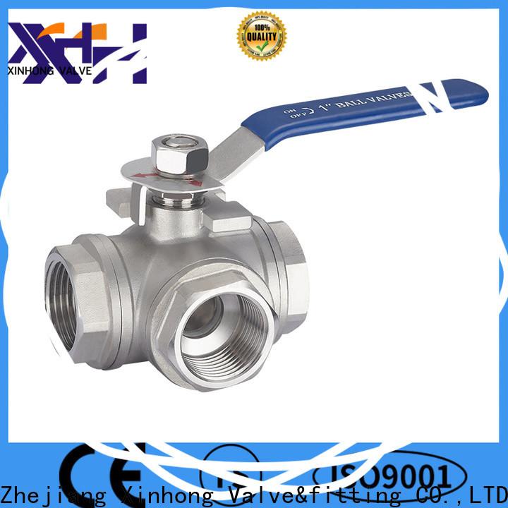 Xinhong Valve&fitting dual ball valve company