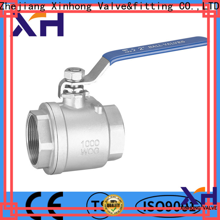 Xinhong Valve&fitting 2 piece ball valve manufacturers