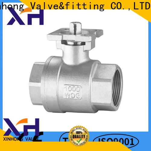 Xinhong Valve&fitting New v ball control valve factory
