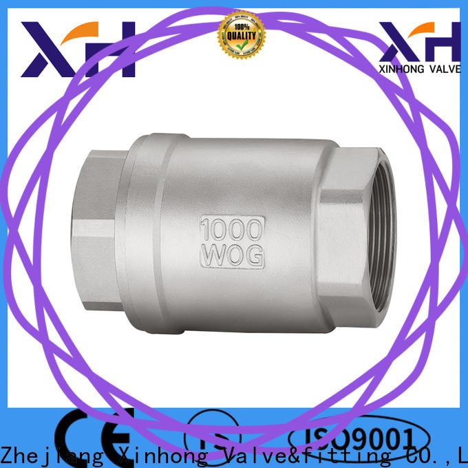 Custom miniature check valve manufacturers