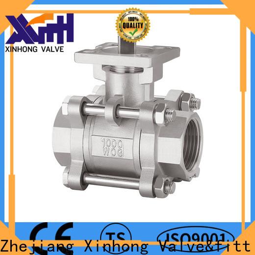 Xinhong Valve&fitting Custom single port globe valve Supply