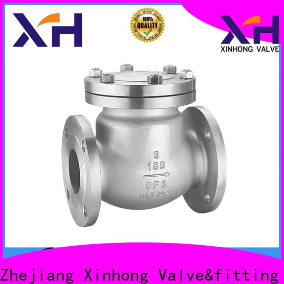 Xinhong Valve&fitting High-quality plastic inline check valve manufacturers