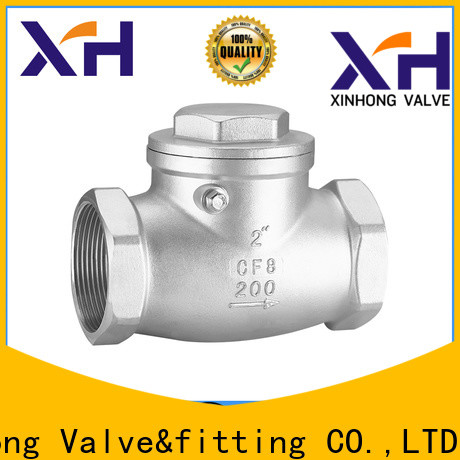 Xinhong Valve&fitting Best 3 swing check valve Suppliers