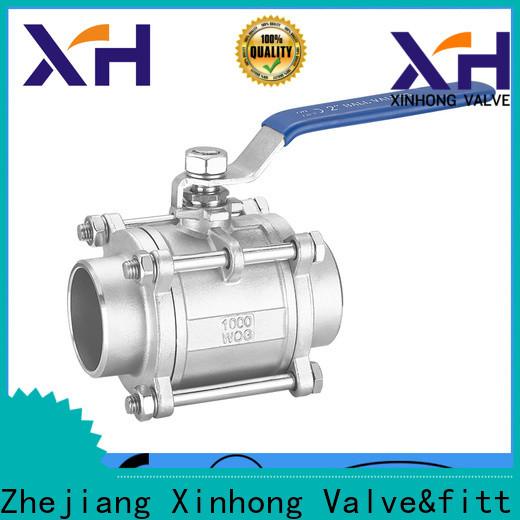 Xinhong Valve&fitting check valve pvc factory
