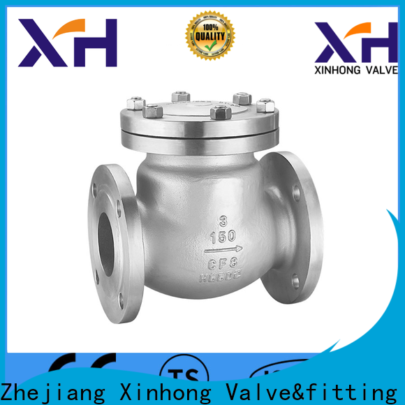 Xinhong Valve&fitting stainless steel check valve factory