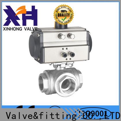 Xinhong Valve&fitting vee ball valve manufacturers
