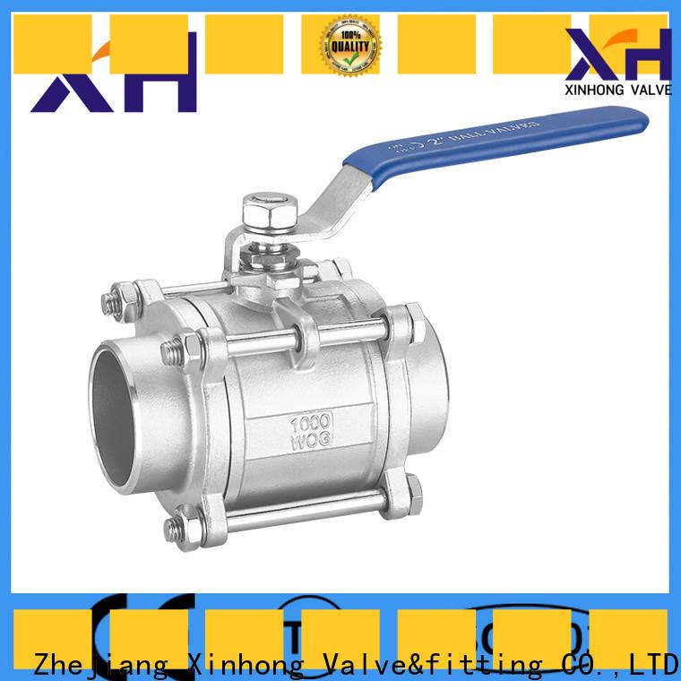 Top lever handle ball valve company