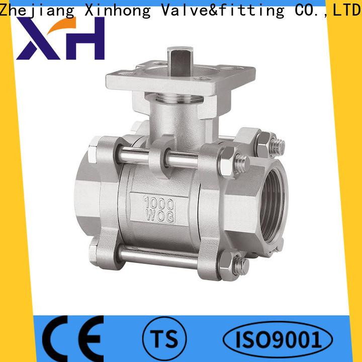 Xinhong Valve&fitting Top ball valve types Suppliers