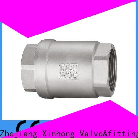 Xinhong Valve&fitting Wholesale brass ball check valve Supply